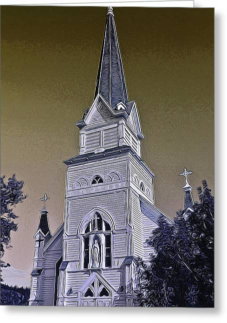 Saint Eugene's Church Greeting Card
