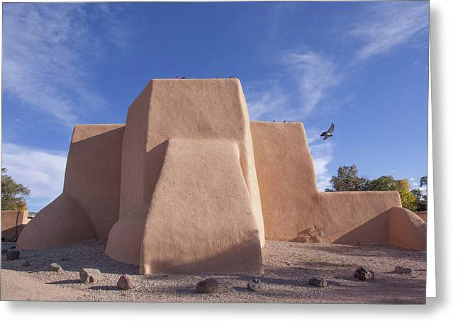 Saint Francis De Asis Los Ranchos De Taos Nm Greeting Card by Bob Ayre