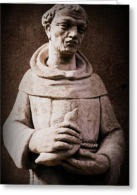 Saint Francis Of Assisi  Greeting Card by Melissa Wyatt