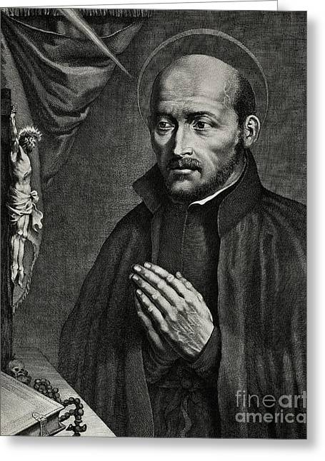 Saint Ignatius Of Loyola Greeting Card