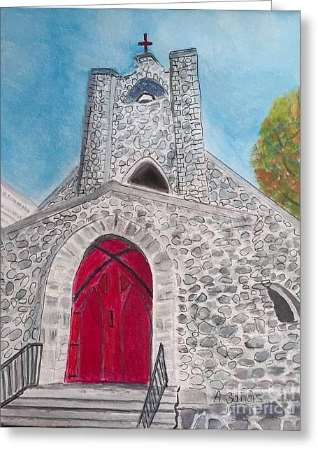 Saint James Episcopal Church Greeting Card