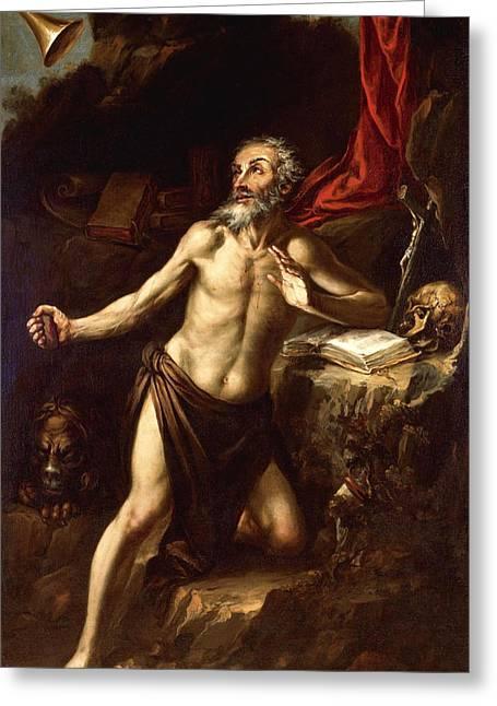 Saint Jerome Greeting Card