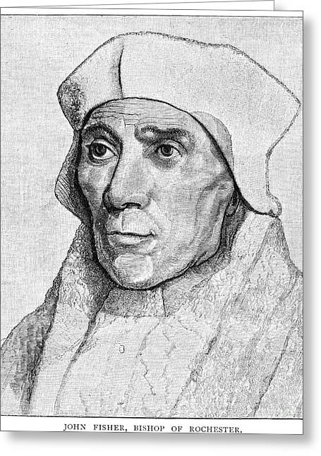 Saint John Fisher Greeting Card by Granger