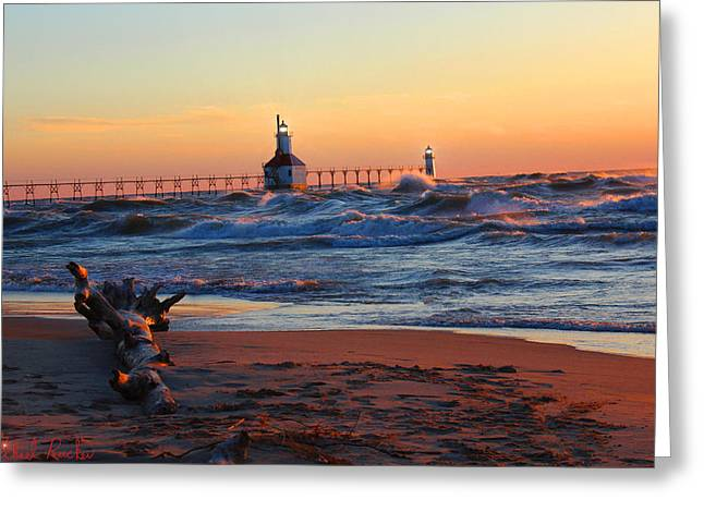 Saint Joseph Lighthouse Greeting Card