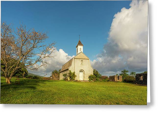 Saint Joseph's Church Greeting Card by Ryan Manuel
