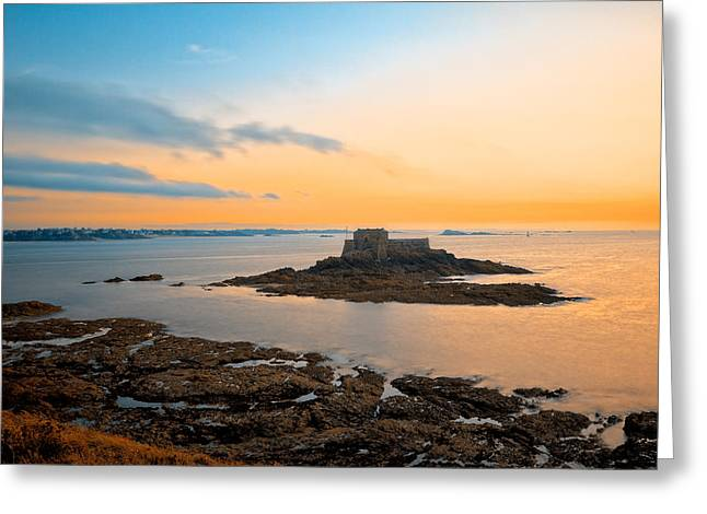 Saint-malo Twilight 2 Greeting Card