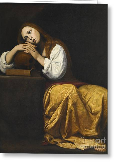 Saint Mary Magdalene Greeting Card