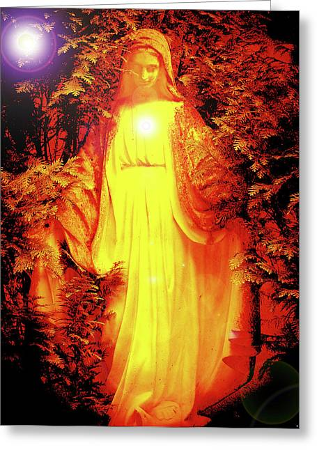 Saint Mary No. 01 Greeting Card by Ramon Labusch