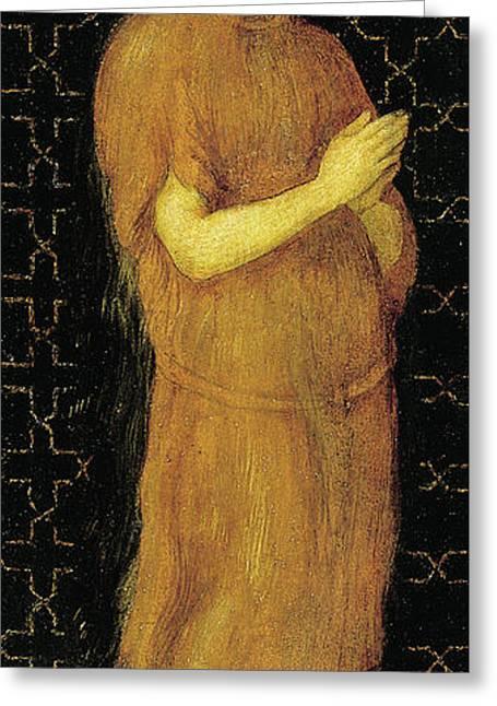 Saint Mary Of Egypt Greeting Card