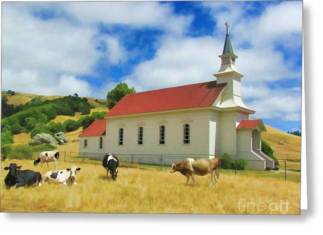 St. Mary's Visitors Greeting Card