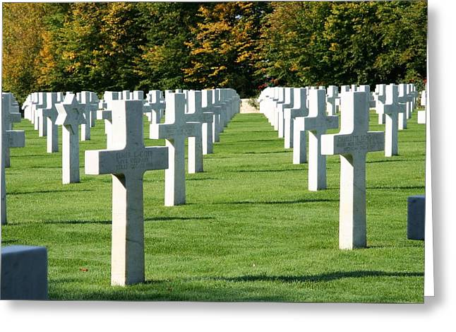 Saint Mihiel American Cemetery Greeting Card by Travel Pics