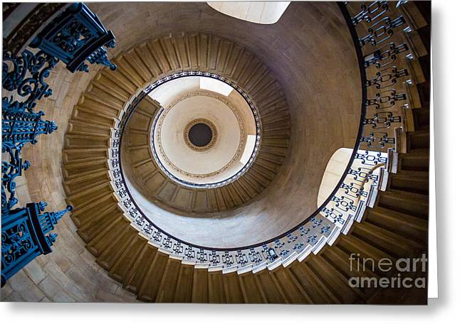 Saint Paul's Cathedral Stairs Greeting Card