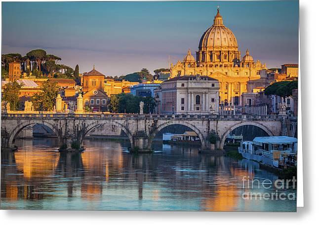 Saint Peters Basilica Greeting Card