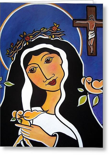 Saint Rita - Patron Of Impossible Causes Greeting Card