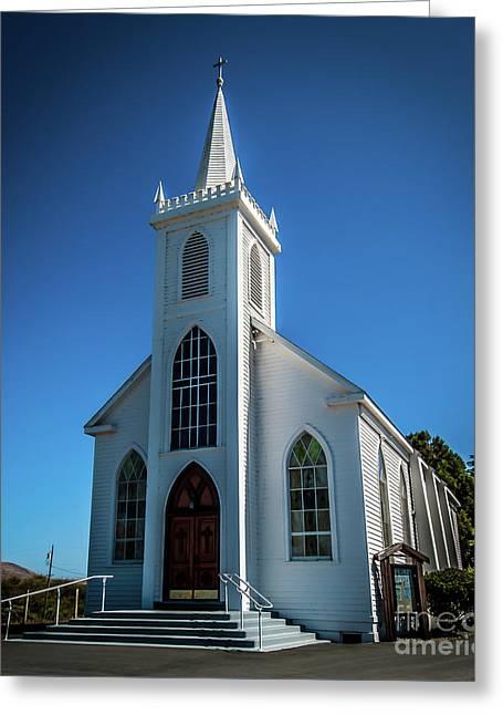 Saint Teresa Of Avila Church - Bodega, Sonoma County Greeting Card