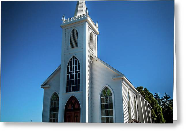 Saint Teresa Of Avila Church - Bodega, Sonoma County Greeting Card