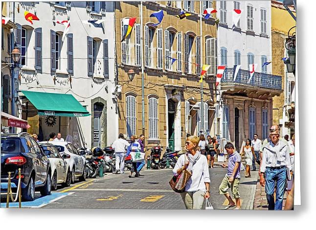Saint Tropez Moment Greeting Card