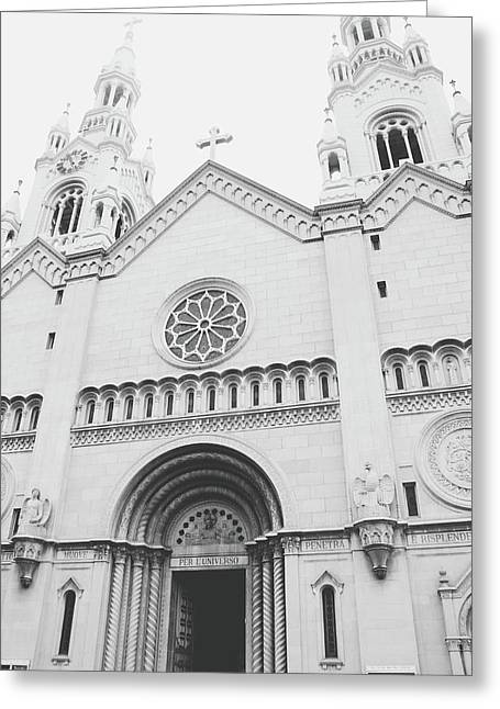 Saints Peter And Paul Church 2-  By Linda Woods Greeting Card