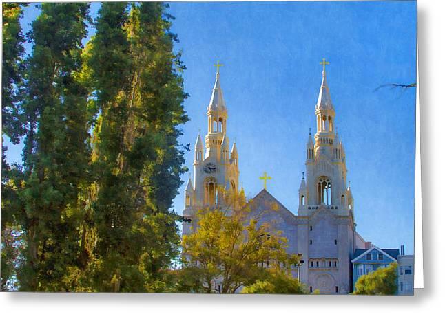 Saints Peter And Paul Church Greeting Card