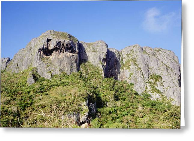 Saipans Suicide Cliff Greeting Card by Mitch Warner - Printscapes