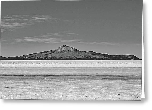 Salar De Uyuni No. 222-2 Greeting Card