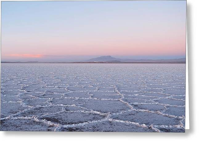 Salar De Uyuni No. 3-1 Greeting Card
