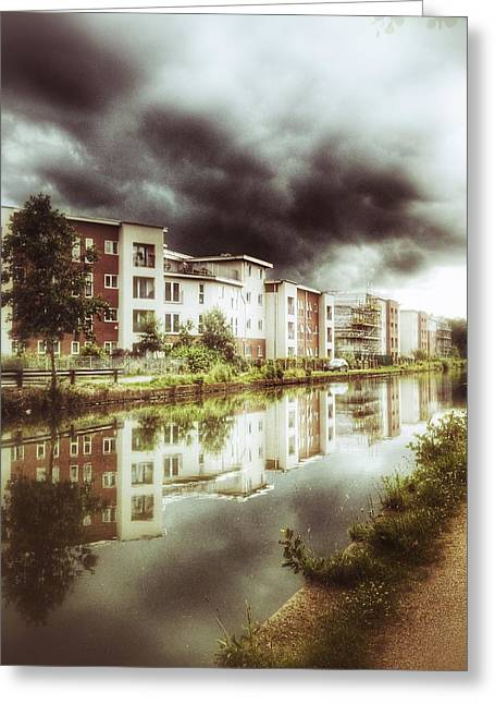 Greeting Card featuring the photograph Sale Canal by Isabella F Abbie Shores FRSA