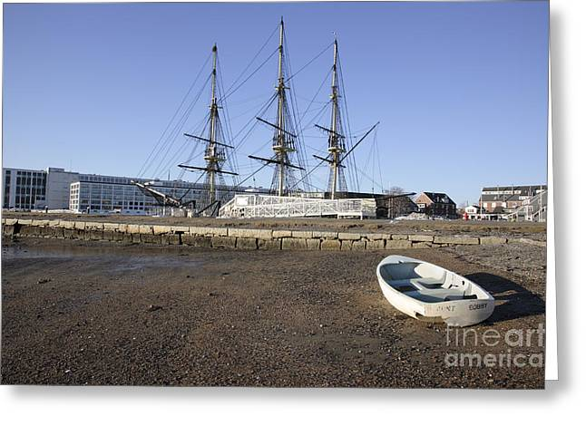 Salem Maritime National Historic Site In Salem  Massachusetts Usa Greeting Card by Erin Paul Donovan