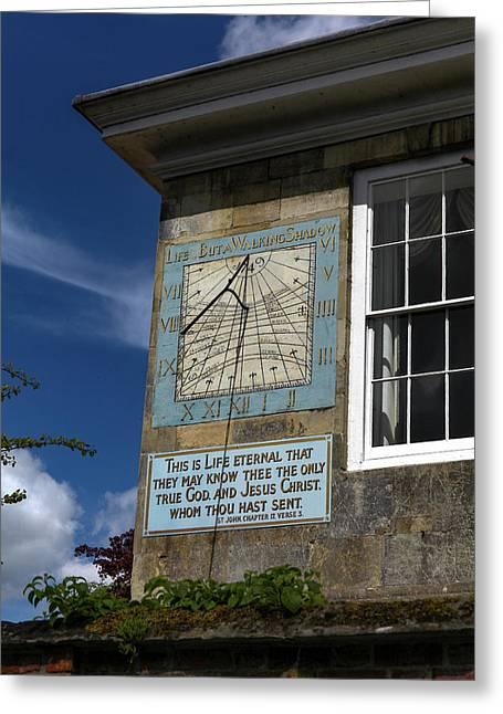 Salisbury Sundial Greeting Card