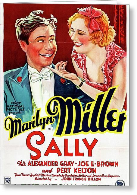 Sally 1929 Greeting Card