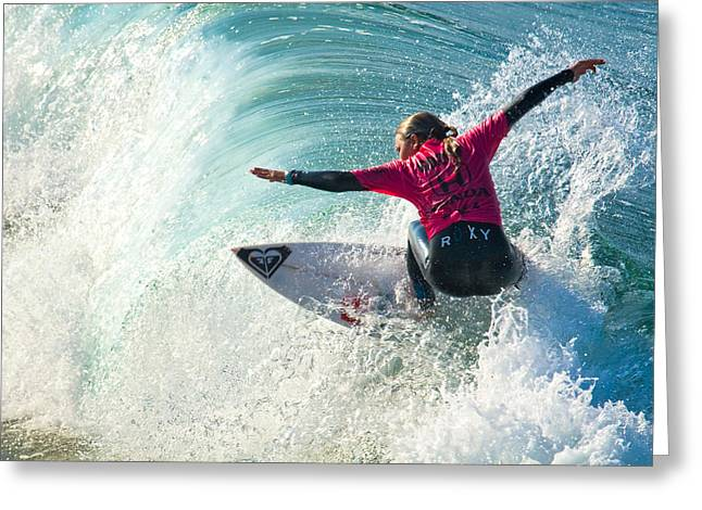 Sally Fitzgibbons Greeting Card