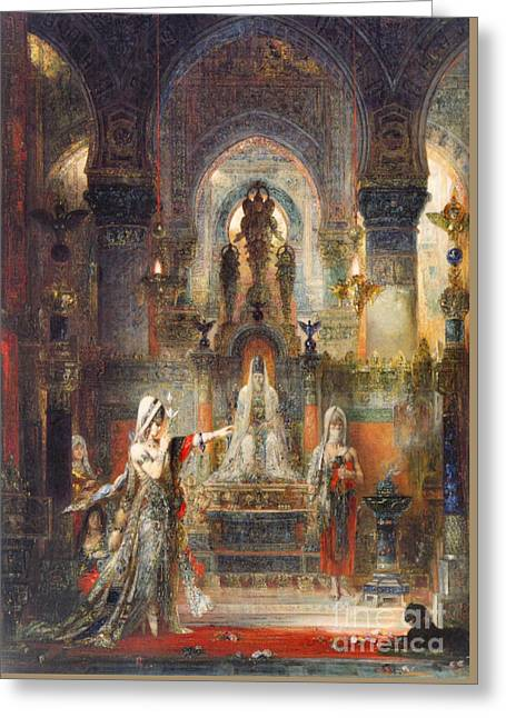 Salome Dancing 1876 Greeting Card by Padre Art