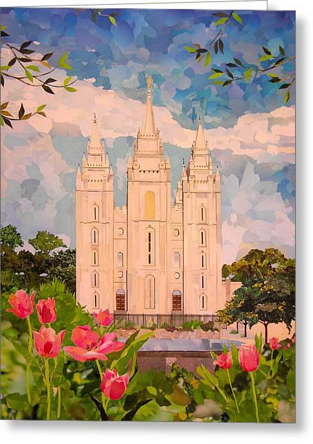 Salt Lake City Temple Greeting Card