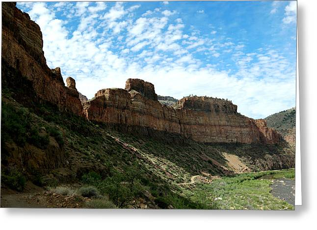 Salt River Canyon Arizona Greeting Card by Jeff Swan