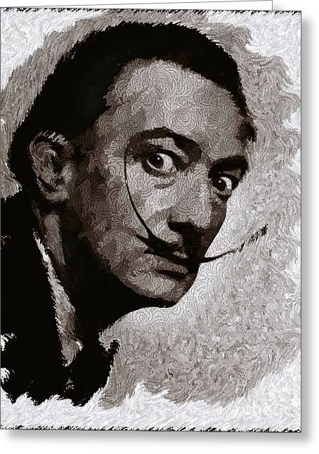 Salvador Dali, Artist Greeting Card