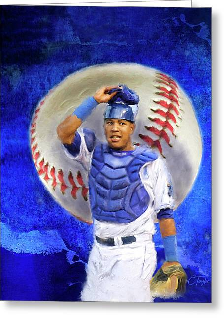Salvador Perez-kc Royals Greeting Card