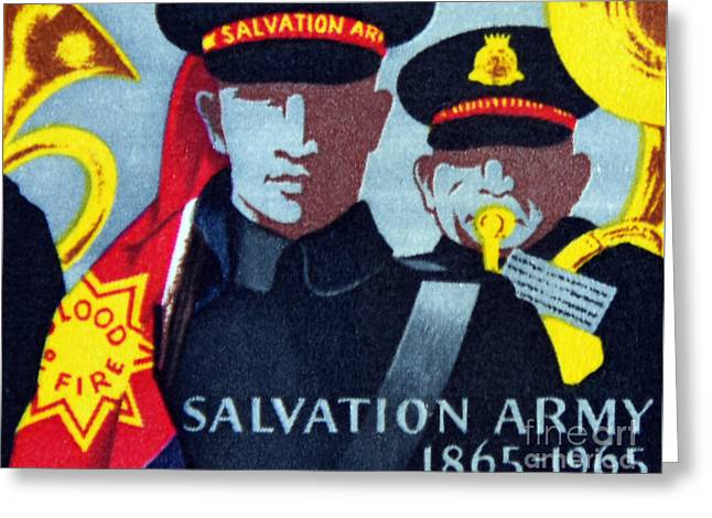 Salvation Army. Greeting Card by Stan Pritchard