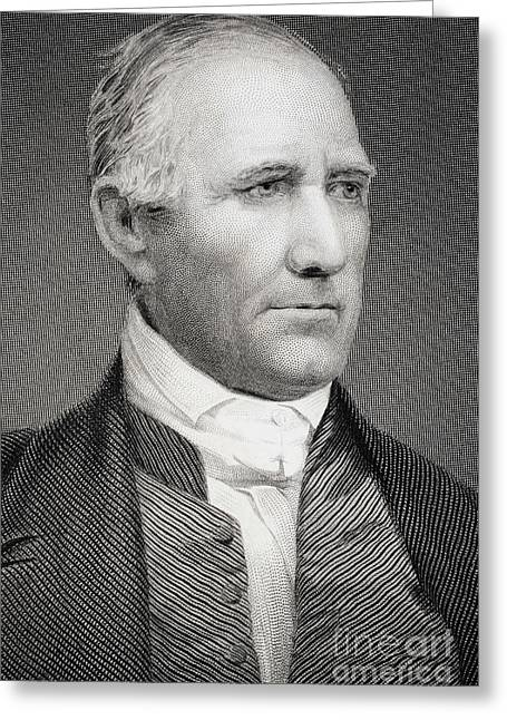 Sam Houston Greeting Card by American School