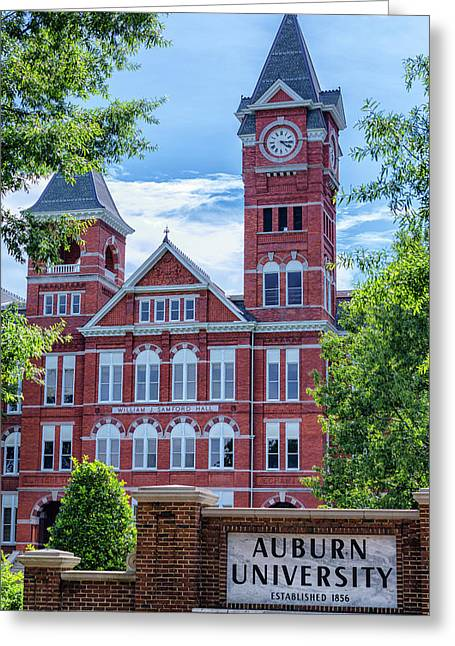 Samford Hall - Auburn University Greeting Card