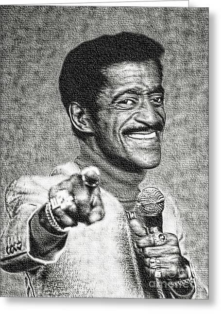 Sammy Davis Jr - Entertainer Greeting Card