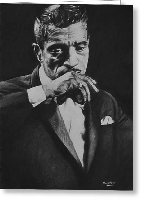 Sammy Davis Greeting Card