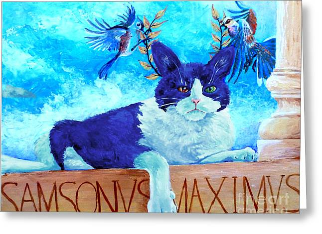 Sammy The Great And The Winged Victories Greeting Card