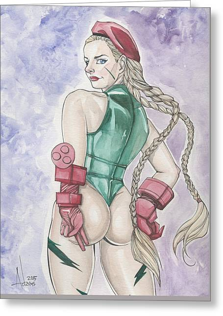 Cammy White Greeting Card
