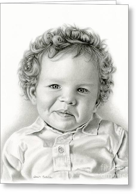 Sammy's Smile Greeting Card by Sarah Batalka
