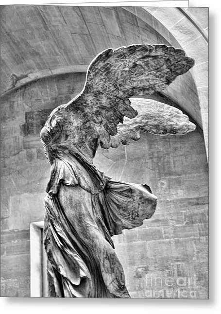 Samothrace Bw IIi Greeting Card