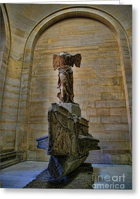 Samothrace Color  Greeting Card by Chuck Kuhn