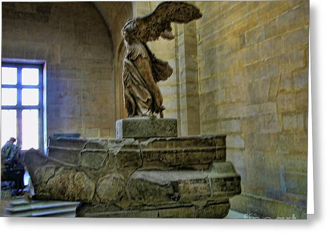 Samothrace II Greeting Card