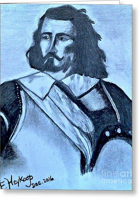 Samuel De Champlain Greeting Card