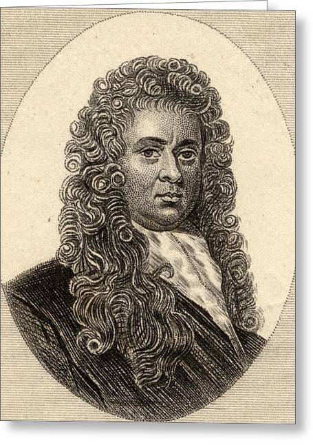 Samuel Pepys, 1633-1703. Diarist And Greeting Card by Vintage Design Pics