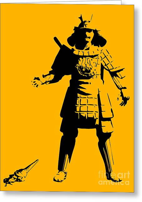 Samurai Fail Greeting Card